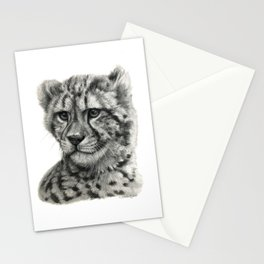 Young Guepard g094 Stationery Cards