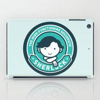 sherlock iPad Cases featuring Sherlock by mydeardear
