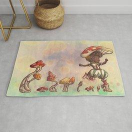 Mushroom Fairy Rug