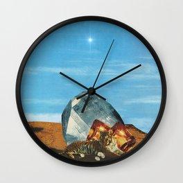 Tiger Crown Jewel Wall Clock