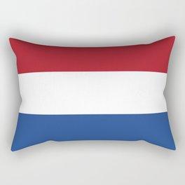 flag of netherlands Rectangular Pillow