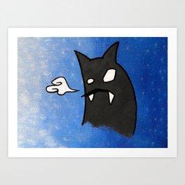 Monstra 1 Art Print