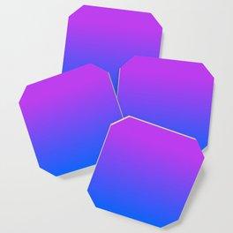 Fuchsia/Violet/Blue Ombre Coaster
