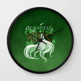 Insanity Runs from my Family Wall Clock