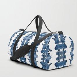 Blue Ink Blots Duffle Bag