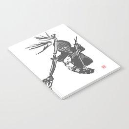 Naginata Sumi-E by Takemi Notebook