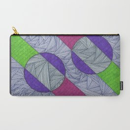 Magenta-Lime Green Carry-All Pouch