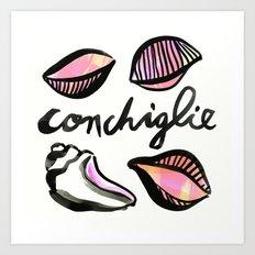 Conchiglie | 100 Days of Cookbook Spots Art Print