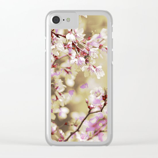 #140 Clear iPhone Case