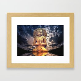 The Buddha Framed Art Print