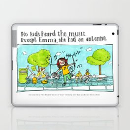 Emma's antenna Laptop & iPad Skin