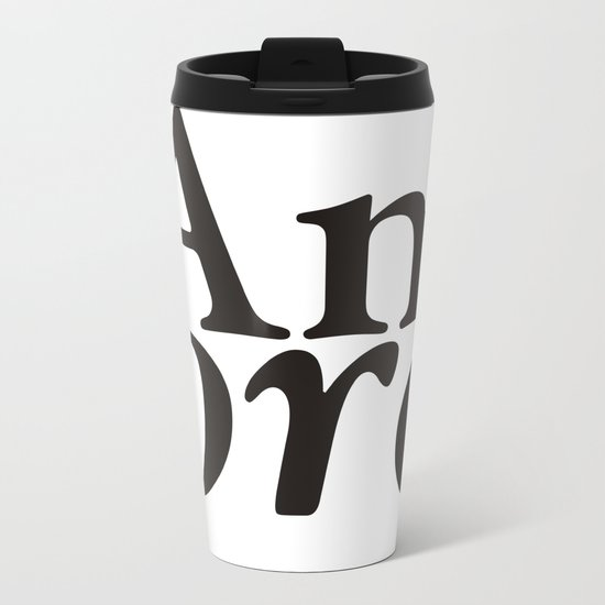 Amore Metal Travel Mug