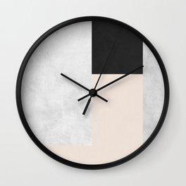 Gold Modern Art XVI Wall Clock
