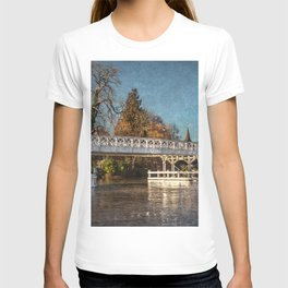 The Toll Bridge At Whitchurch-on-Thames T-shirt