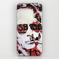 bats iPhone & iPod Skins featuring Bats by Matt Pecson