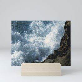 Turbulent Sea Mini Art Print