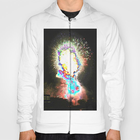 fireworks abstract Hoody