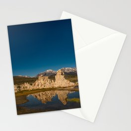 Mono Lake Reflections Stationery Cards