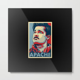 "Aldo the Apache ""Hope"" poster Metal Print"