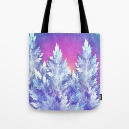Winter's Night Tote Bag