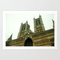 Lincoln's Cathedral Art Print