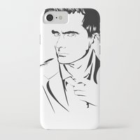 david tennant iPhone & iPod Cases featuring David Tennant by Christine Ring
