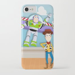 Buzz and Woody iPhone Case