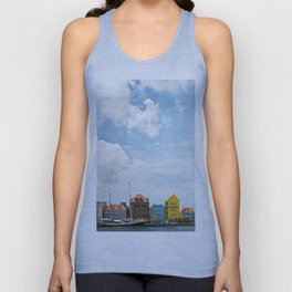 Colorful houses Willemstad Unisex Tank Top