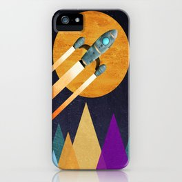 Rocket  2nd Star to the right  LLAP iPhone Case
