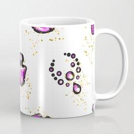 Purple lips with perfume Coffee Mug