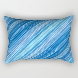 Ambient 1 in Blue Rectangular Pillow