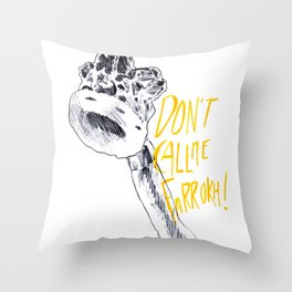 Don't call me Farrokh - 2 Throw Pillow