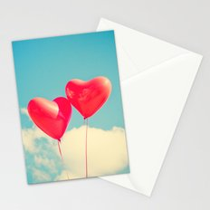 Passionate Hearts Stationery Cards