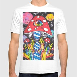 Psychedelic DNA T-shirt