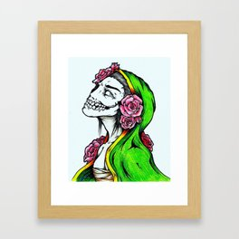 The Beauty In Death Framed Art Print