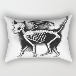 Devil Kitty Rectangular Pillow