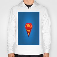 superhero Hoodies featuring SUPERHERO by Acus