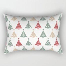 White Christmas Rectangular Pillow