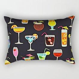 It's 5 O'Clock Somewhere Cocktails Rectangular Pillow