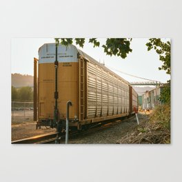 The long haul Canvas Print