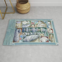 Atlantic Collection - Found Objects Rug