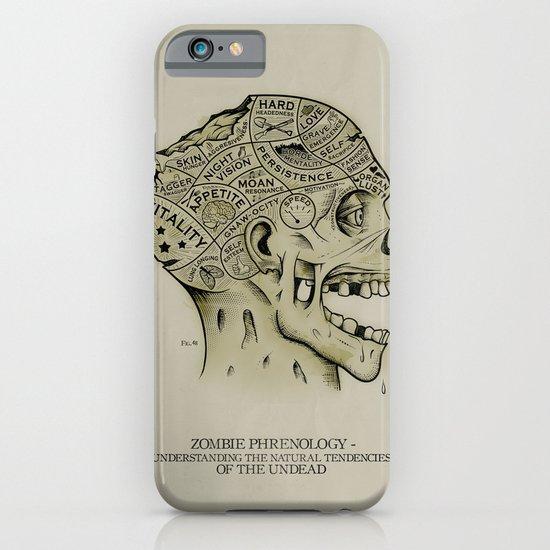 Zombie Phrenology iPhone & iPod Case