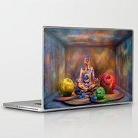 buddah Laptop & iPad Skins featuring Seelenpflege by teddynash