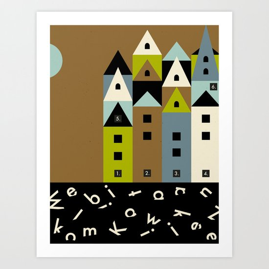 COLORADORE 021 Art Print