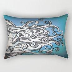 Whirl Wind  Rectangular Pillow