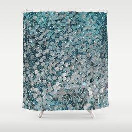 Mermaid Scales Aqua Sol Shower Curtain
