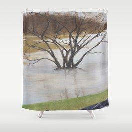Under Water Shower Curtain