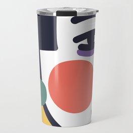 Blushed Cheek Girl Travel Mug