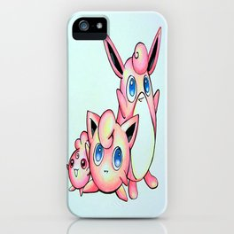 Jiggly, Wiggly, and Iggly iPhone Case