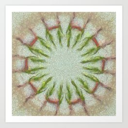 Peeped Disposition Flowers  ID:16165-093506-91430 Art Print